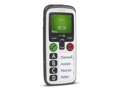 Doro Secure 580 100g Wit
