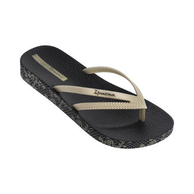 Ipanema slipper dames - Bossa Soft zwart