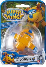 Super Wings model Die-cast Donnie 8 cm geel