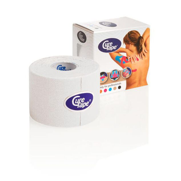 CureTape kinesiology tape - per rol