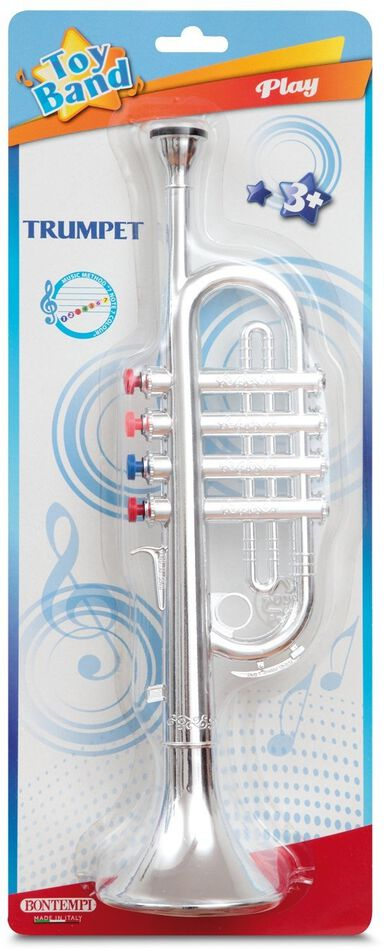 Bontempi Trompet Toy Band Zilver