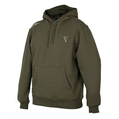 Fox Collection Green/Silver - Hoodie - Maat XXL