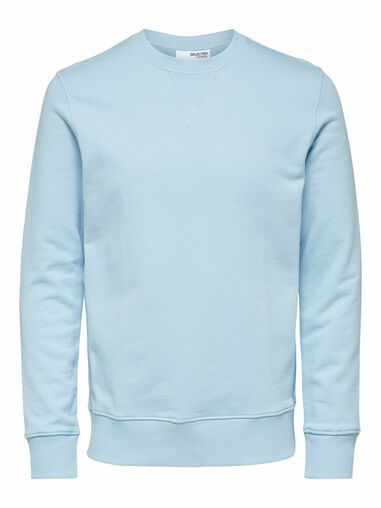 Selected Homme Sweatshirt Regular fit biologisch katoen