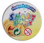 Johntoy Smart Putty Primary Colors 8 cm geel
