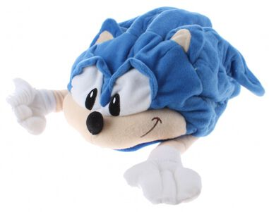 muts Sonic The Hedgehog polyester blauw one size
