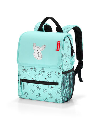 Reisenthel Backpack Kids Rugzak - Polyester - 5L - Cats&Dogs Mint