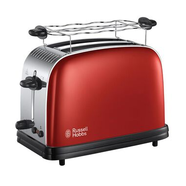 Russell Hobbs 23330-56 Colours Plus Flame Red broodrooster