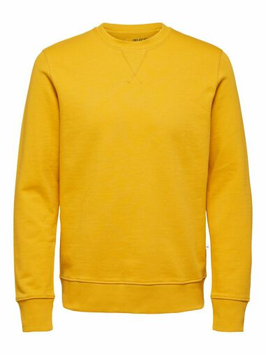 Selected Homme Sweatshirt Regular fit biologisch katoen 320g