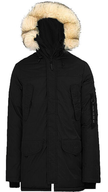 Paragoose - Heren Jas winter Alqui Black Zwart