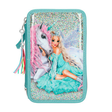Top Model etui Fantasy Model 20,5 x 13 cm polyester mintgroen