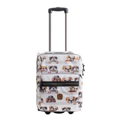 Pick & Pack Cute Dogs Kindertrolley white multi