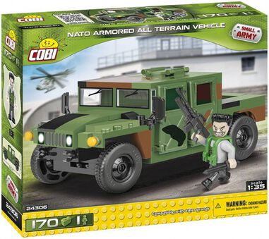 Cobi Historical Collection Jungle Humvee 170-delig 24306