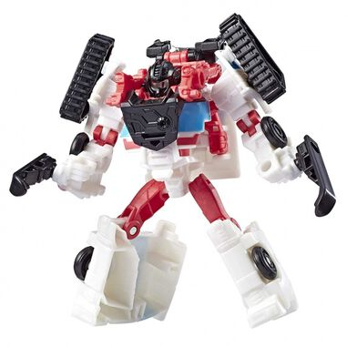 Hasbro Transformers Cyberverse Spark Armor Battle Ratchet 12 cm wit/rood