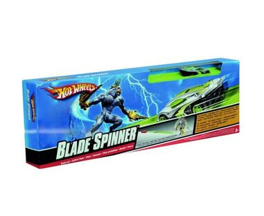 Hot Wheels blade spinner baanset