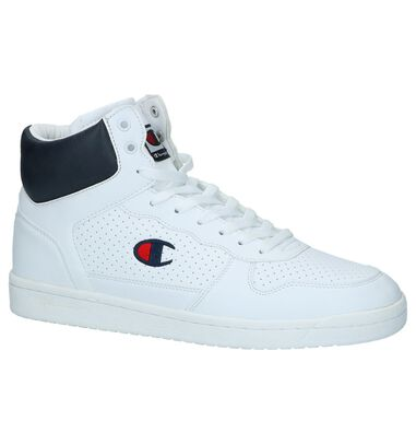 Witte Hoge Sneakers Champion Chicago
