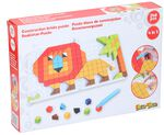 Eddy Toys mozaïekpuzzel 4-in-1 junior rood 248-delig