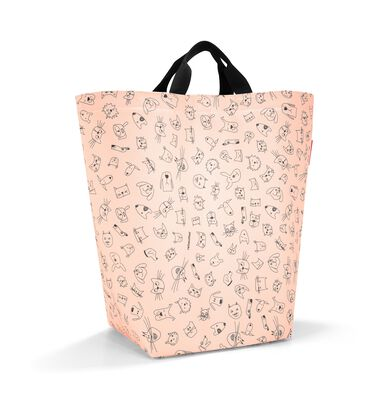 Reisenthel Storagesac Kids Opbergtas - Opbergzak voor speelgoed - Polyester - 27 L - Cats&Dogs Rose