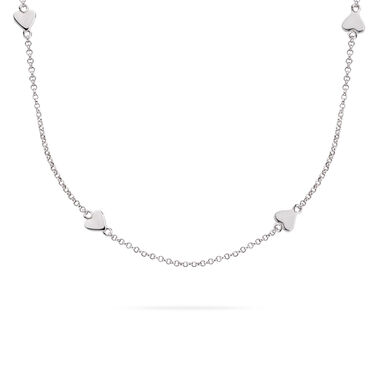 Rebel and Rose RR-NL001-S-49 Collier Necklace Love You More And More Silver 925 - 42/45cm S