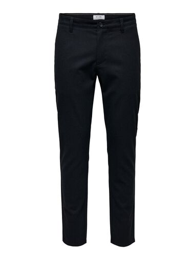 ONLY & SONS Chino Mark gemêleerde