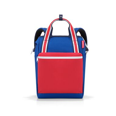 Reisenthel Allrounder R Schouder/ Rugtas - Polyester - 12L  - Special Edition Nautic Blauw; Rood; Wit