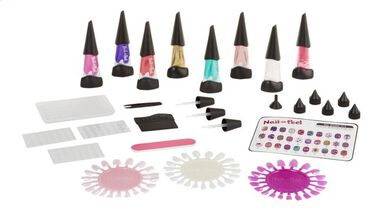 nagelset Nail-a-Peel Deluxe 80-delig