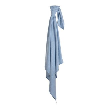 Little Dutch Swaddle doek 120 x 120 Blue Melange
