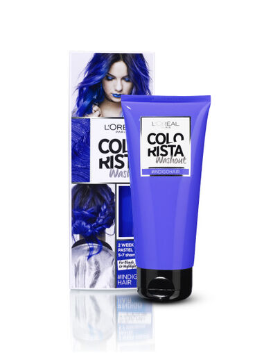 Colorista Wash Out wash-out haarverf Indigo Haar