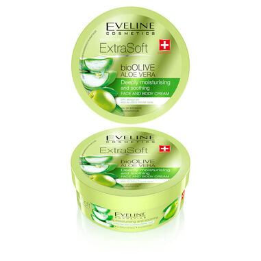 Eveline Cosmetics Soft Bioolive Aloe Vera Face & Body Cream 175ml.