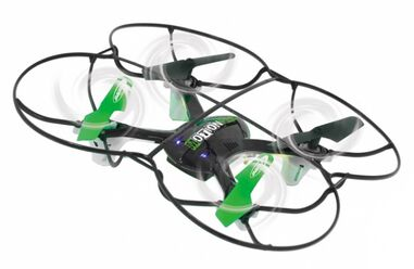 Jamara quadrocopter MotionFly Turbo 2,4 GHz 18 cm zwart/groen