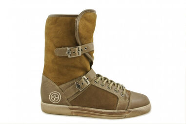 Metro Sneakers Boots taupe