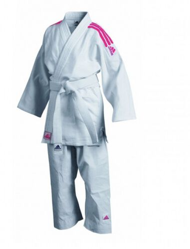 judopak J350 Club wit/roze
