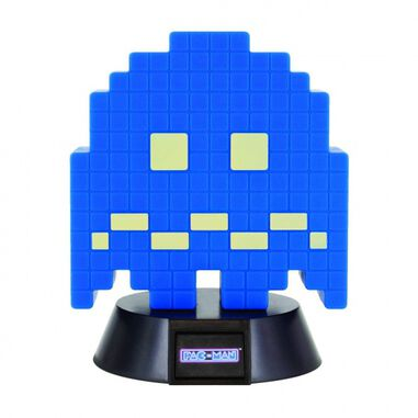 Paladone lamp Pac-Man: Turn to Blue Ghost Icon Light 10 cm blauw