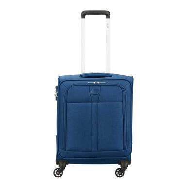 Delsey Maloti 4 Wheel Slim Trolley 55 marine blue