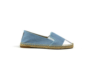 Replay Dames Espadrilles Slam Blauw