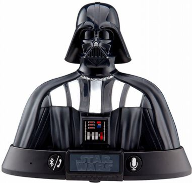 Star Wars Darth Vader bluetoothspeaker zwart
