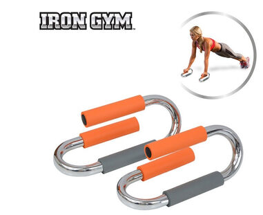 Iron Gym Push Up Bars - Deluxe