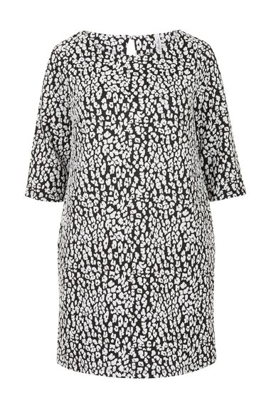 Miss Etam Dames Etam Plus - Jurk print JACQUARD DRESS