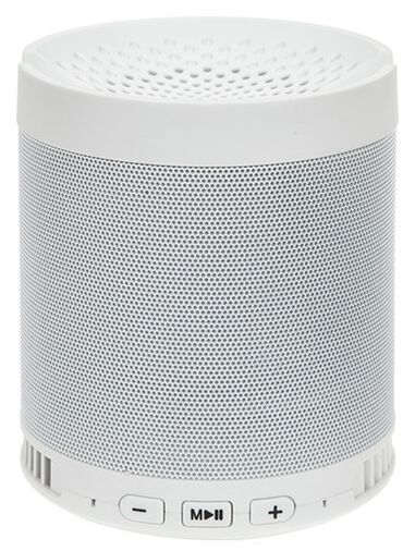 Kamparo bluetooth speaker wit 9,5 x 9,5 x 11 cm