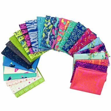 Tula Pink   Home Made   Fat Quarter Pakket Complete Collectie