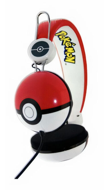OTL koptelefoon Pokemon 100 dB junior rood/wit