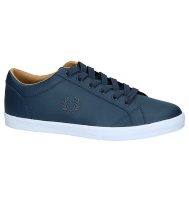Donkerblauwe Casual Schoenen Fred Perry