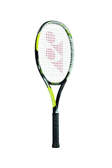 tennisracket E-Zone Ai Feel lime gripmaat L3