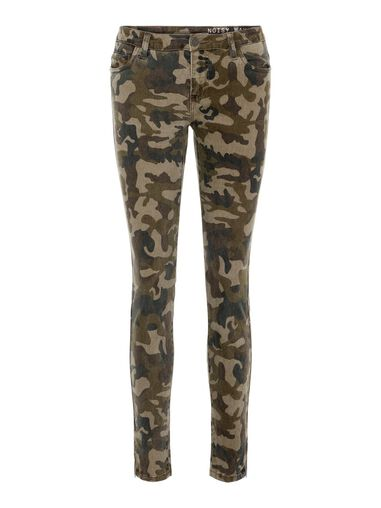 Noisy may Skinny jeans NMKIMMY Camouflage Normal Waist