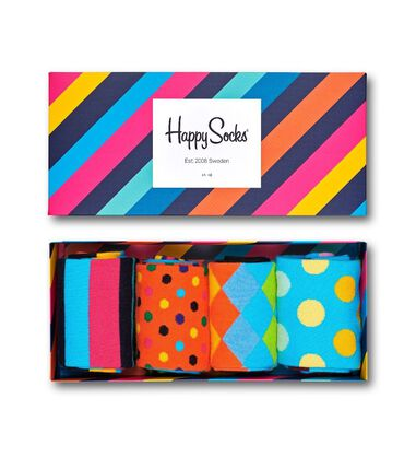Happy Socks Classics 4-pack Giftbox