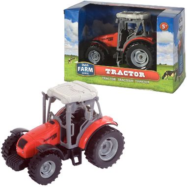 Dutch Farm Serie Tractor Rood 1:32