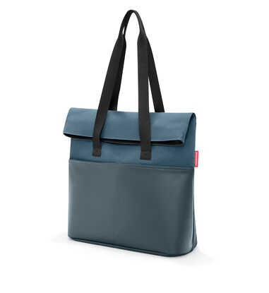 Reisenthel Foldbag Schoudertas - Werktas - Canvas  - 23L - Canvas Blue