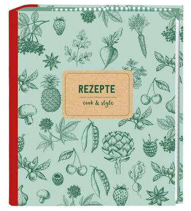 Receptenboek A5 cook and style