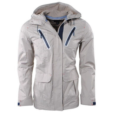 Geographical Norway heren zomerjas capuchon bretling - beige