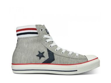 Converse Dames Sneakers Star Player Sock Mid Ash Grijs