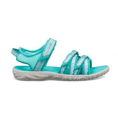Teva Kids tirra camino metallic teal blue